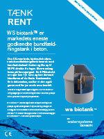 ws biotank™ bundfældningstank