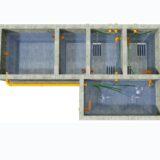 Større renseanlæg / 50 PE-5000 PE / WSB®clean pro